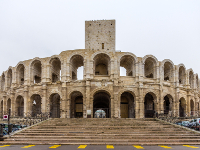 Arles France Roman Amphitheatre UNESCO World Heritage Site