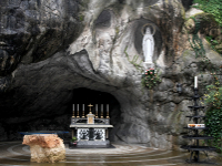 Grotto of Lourdes France