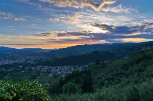 Montecatini Alto near Florence